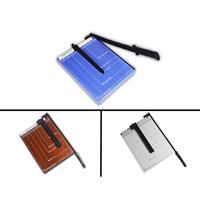 Wholesale A4 A3 A5 B5 paper cutter wood steel guillotine photo hay cutter office stationery file fodder chopper paper trimmer