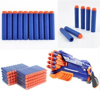 Wholesale 100PCS Gun Soft Refill Bullets Darts Round Head Blasters for Nerf N strike Toy