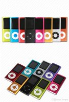 Wholesale LCD Screen MP3 MP4 Multi Media Video Player Music FM Radio With Retail Box DHL free