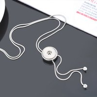 beauty asian - Hot sale DJ0037 Beauty Fashion slide kinds ginger snap necklace CM fit DIY MM ginger snap buttons Accessories charm jewelry