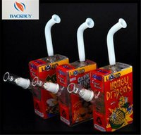 beverage news - News beverage glass bottles can used bongs water pipes smoking hoohak Portable glass shisha hookahs bongs pipes bubblers oil rigs with pipes