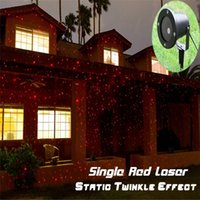 Wholesale Outdoor IP65 waterproof Laser stage light elf light christmas lights outdoor laser lighting projector red green firefly light projector