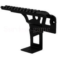 ak flashlight mount - AK Ris Rail side front Top Scope Flashlight Laser Dot Sight Mount receiver