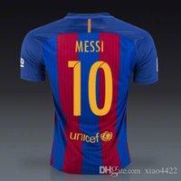 barcelona home shirt - Barcelona jerseys euro NEW SEASON BEST QUALITY Argentina BARCELONA jersey SUAREZ MESSI home SHIRT