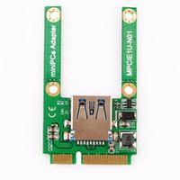 Wholesale High Quality Mini PCI E Card Slot Expansion to USB Interface Adapter Riser Card tinyaa