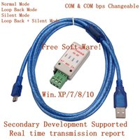 Wholesale USBCAN V5 USB to CAN BUS Converter Adapter with USB Cable Free Software
