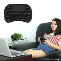Wholesale High Quality Protable Mini Wireless Keyboard G with Touchpad Handheld Keyboard for PC Android TV