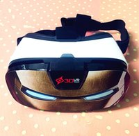 Wholesale New Design Cartoon IronMan Private mould Professional VR BOX D Glasses Version Virtual Reality D Video Glasses