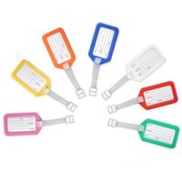 address business - 10pcs Travel Luggage Suitcase Baggage Tags Name Address ID Labels Random Colour