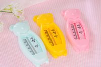 Wholesale Around the bear Baby supplies Bear the water meter A bath thermometer