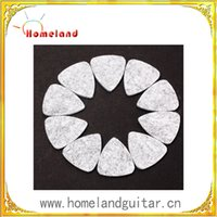 Wholesale Fixture Displays Natural Wool Felt Guitar Picks Plectrums gray