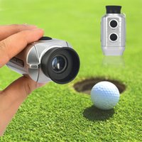 Wholesale 7X Digital Golf Range Finder Handheld rangefinder Scope Yards Measure Distance Meter hunting monocular Telescope