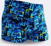 achat en gros de boxer man-hommes de mode garçon été shorts de plage de surf maillot de bain boxer homme maillot de bain maillots de bain de 500pcs de TOPB2921