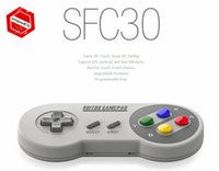 2017 8BITDO SFC30 Bluetooth Game Controller Gamepad W / Xstand Pour iOS Android iPhone Samsung iPad PC MAC Haute qualité