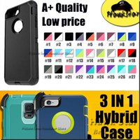 apple clips - Case For Iphone S Plus SE Samsung S6 S7 edge Plus Note Rugged Hybrid tpu Silicone Cases With Front Screen Belt Clip IN A quality