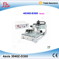Wholesale axis CNC router Z D300 W cnc cutting machine and mini cnc milling machine Russia include tax