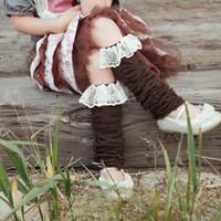baby sock cake - Promotion Baby Girls Spring Autumn Socks Kids Lace Ruffle Leg Warmers colors Leggings for Photo Prop Cake Smash