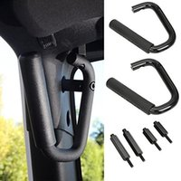 Wholesale Front Hard Mount Solid Steel Grab Bar Grab Handle for Jeep Wrangler JK Sahara Sport Rubicon Unlimited
