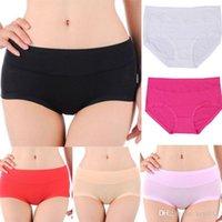 Wholesale Hot Top Quality Women Black Sexy Bamboo Fiber Spandex Ladies Girls Seamless Briefs Panties Underwear Knickers L XL XXL XXXL