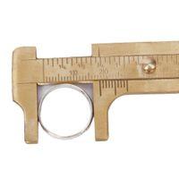 best vernier caliper - Best Selling quot mm Brass Vernier Caliper Sliding Gem Bead Tool Inches Ruler