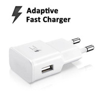 Wholesale New Quality V A or V A Wall Charger For Samsung Galaxy Note S6 Edge Plus S7 S7 Edge Adaptive Fast Charging from coolcity2012