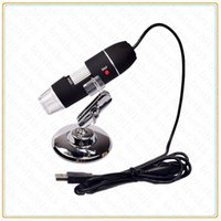 Wholesale High quality X X LED USB Digital Microscope Endoscope Magnifier Camera with Driver Black Lightweight usb microscope