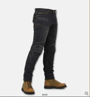 Wholesale New High quality men Super Fit Kevlar Denim Jeans Motorcycle ride jeans off road motocross racing pants S XL