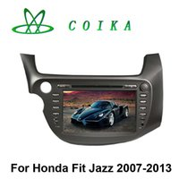 auto indonesia - 1024 Screen Quad Core Android System Car DVD For Honda Fit Jazz Auto Stereo Radio GPS Navi BT RDS Phonebook WIFI G