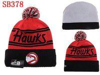 atlanta hawk - Atlanta Beanies Winter High Quality Beanie For Men Hawks beanie American basketball Women Skull Caps Skullies Knit Cotton Hats