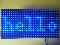 Wholesale Blue LED Display P10 Dot Matrix Module sign X32 PROMOTION