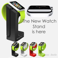 Wholesale E7 stand holder holder For apple iwatch watch sport exhibition Stand charging base mount of smart watches Free DHL