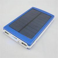оптовых портативное зарядное устройство панель солнечной батареи-Солнечное зарядное устройство портативный банк силы и батареи Панель двойной зарядки портов для всех сотовый телефон настольный ПК MP3 освобождает перевозку груза