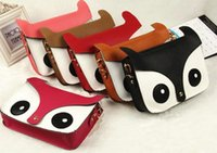 Wholesale Hot Women Style PU Owl Fox School Tote Handbag Retro Hobo Shoulder Bag Messenger Handbags MC0186
