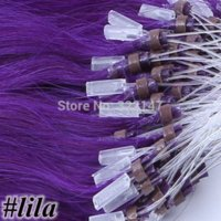 Wholesale Lila Cheap micro loop hair extensions s quot Micro Ring Hair g s Straight Fish Line Micro Loop Hair gram