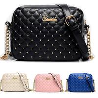 Wholesale 2016 Diamond Handbags Women bags Designer handbags wallets for women fashion sheepskin leather chain bag shoulder bags