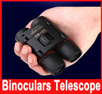 Wholesale Mini Outdoor Binoculars Folding Telescopes m m X Magnification with Hand Strap and Cloth Bag Easy to Carry