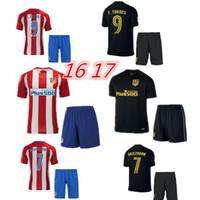Wholesale best quality Atletico Madrid kit Jersey home and away GRIEZMANN F TORRES Atletico Madrid football shirt soccer jersey