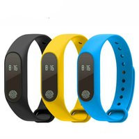 Wholesale New M2 Bluetooth Smart Bracelet Waterproof IP67 Heart Rate Monitor Message Call Reminder Wristband for Android iOS PK mi band
