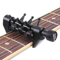alternative guitar tuning - New Arrival Flanger Flexi Portable Alternative Tuning Guitar Capo Black