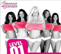 Wholesale Hot Sale Makeup Eraser Magic Makeup Erasers ECO Makeup Remover Towels professional Makeup Cleaning Towel remove makeup water Makeup Remover