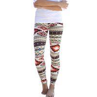 aztec leggings - New Women s Plus Size Tribal Aztec Printed Leggings Colors Long Soft Size S XL Hot LL6