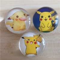 Wholesale New Poke Pikachu Cartonn Magnet Blackboard Sticker School Office Party Supplies student Stationery Kid gift XL P38