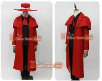 alucard cosplay costume - HELLSING Alucard Cosplay Costume Halloween Uniform Shirt Vest Pant Coat Hat Tie Custom made