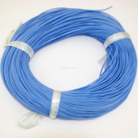 Wholesale 24AWG Blue Color Soft Silicon Wire m cable with EU ROHS and REACH Directive standards