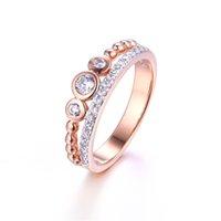 best bijoux - 2016 Fashion Wedding Rings for women white Rhodiun Plated AAA CZ Diamond jewelry women rings vintage female Infinity bijoux best love gift