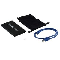 Wholesale USB HDD Hard Drive Disk Mobile External Enclosure Box Case quot SATA HD Enclosure Case Drop Shipping