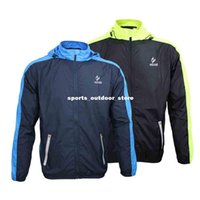 Wholesale ARSUXEO Men Sports Jersey Winter Running Cycling Bicycle Vest Windproof Waterproof Polyamides Sleeve Coat Jacket Clothing Casual H12773