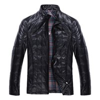 Wholesale Fall New Arrival Autumn and Winter Men s Faux Sheep Skin Leather Jacket Men Jackets Fashion Coat Style Coats