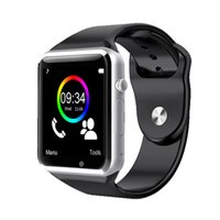 arrival gsm - A1 smart watch bluetooth New arrival with luxury touch screen sim card gsm gp supported camera for iPhone and android free ship