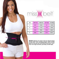 acupuncture women - Brand New Women Adjustable Waist Trainer Miss Mesh BodySuit Shaper Slimming Belt Training Fitness Corsets Fat Burning Cummerbund
